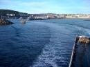 Leaving Douglas, Isle of Man